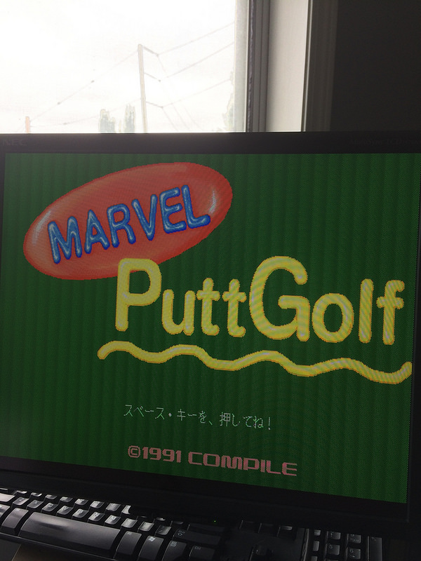 Marvel PuttGolf (c) 1991 Compile