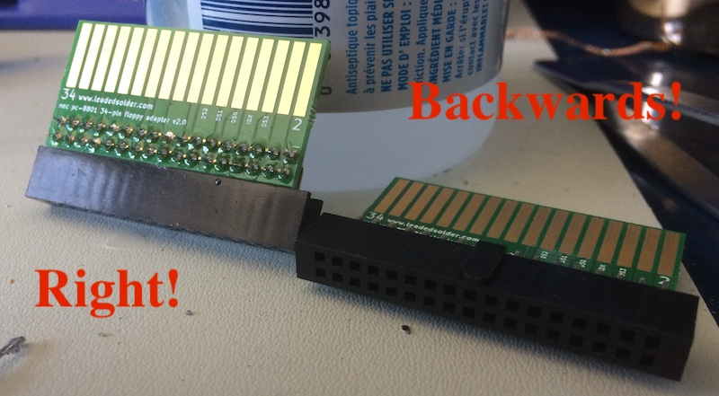 Good vs. bad part 2 (keep ignoring the terrible soldering job)