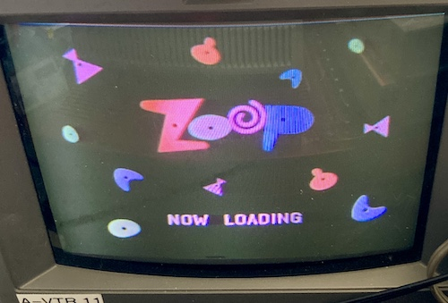 The screen says Zoop - Now Loading
